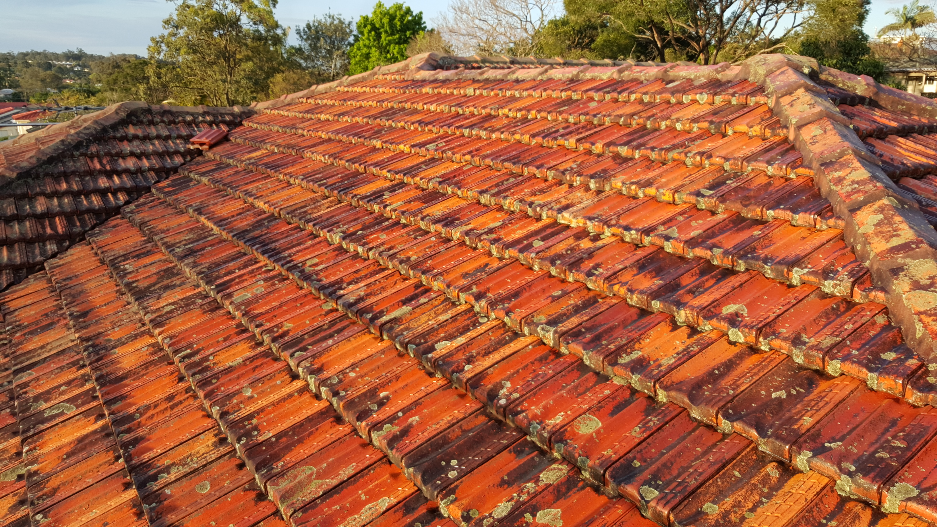 Terracotta Roof Restoration Gallery Brisbane Brisco Roofing