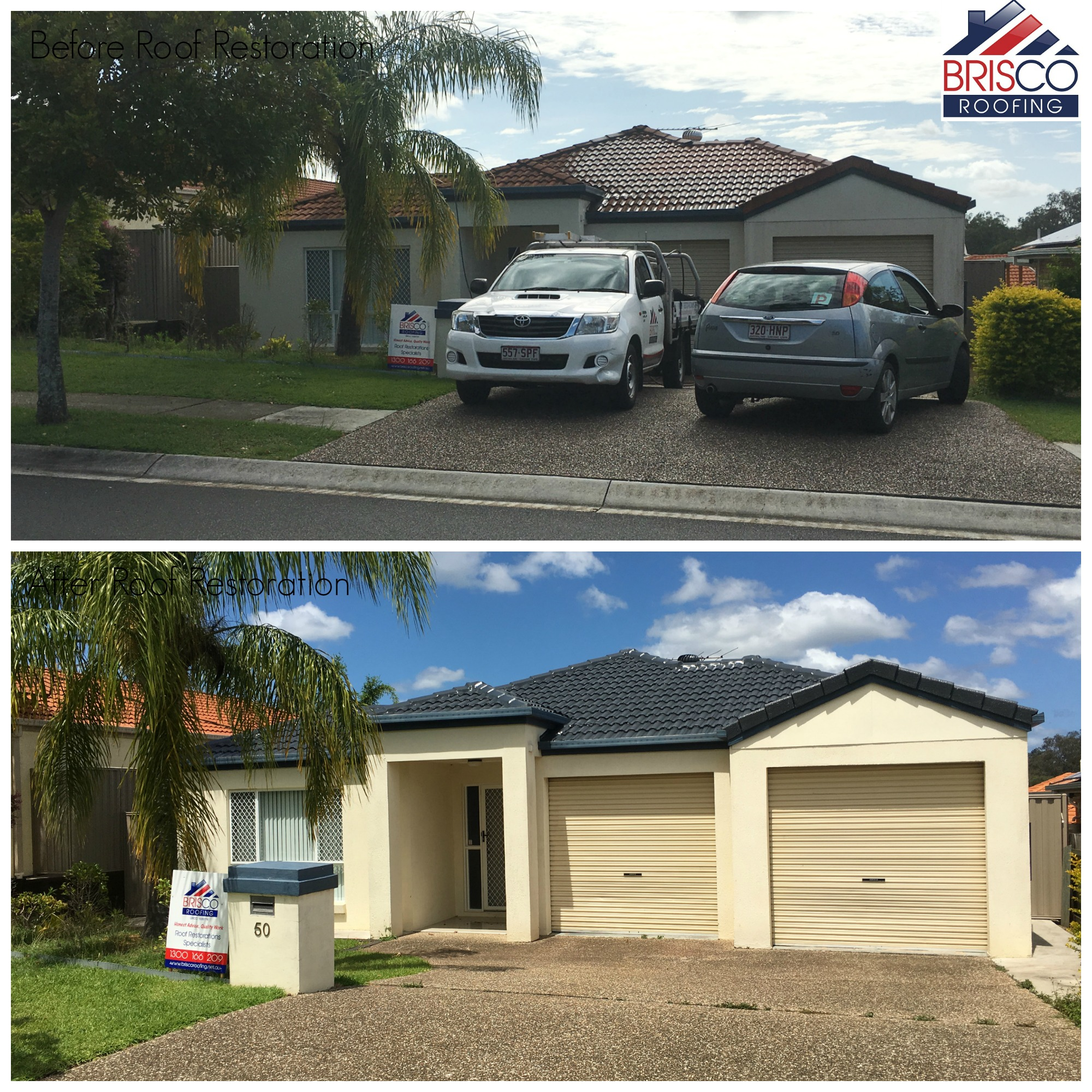 Roof Restoration Before and After Gallery Brisbane 10