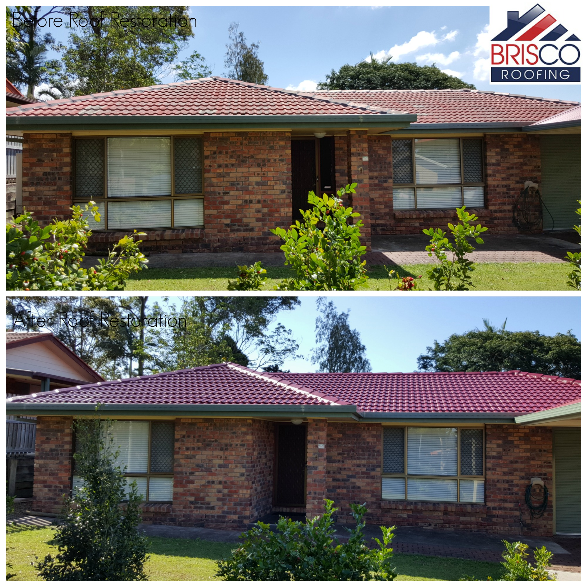 Roof Restoration Before and After Gallery Brisbane 3