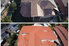 Brisbane Mackenzie Roof Restoration Terracotta aerial shot