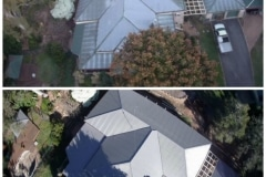Before and After Roof Restoration Wallaby Nutech