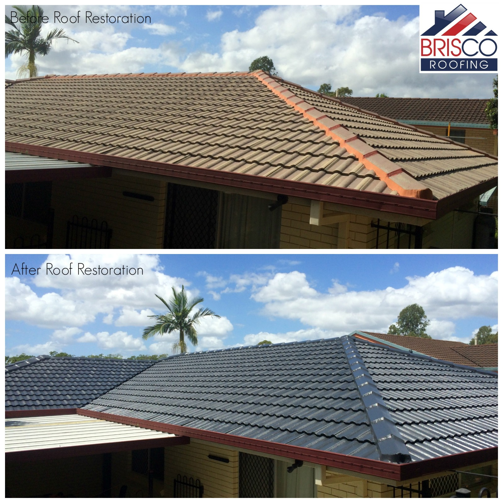 Roof Restoration Before And After Gallery