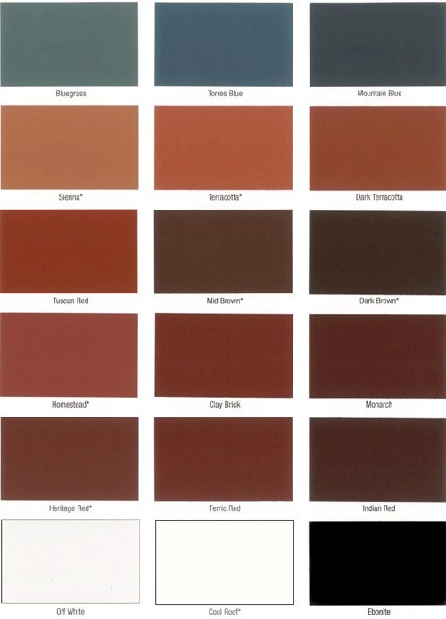 Dulux 962 roof membrane colour chart - Dulux exterior wood paint colour chart pict ...