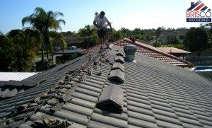 Re-bedding Roof restoration brisbane roof repair roofing painting