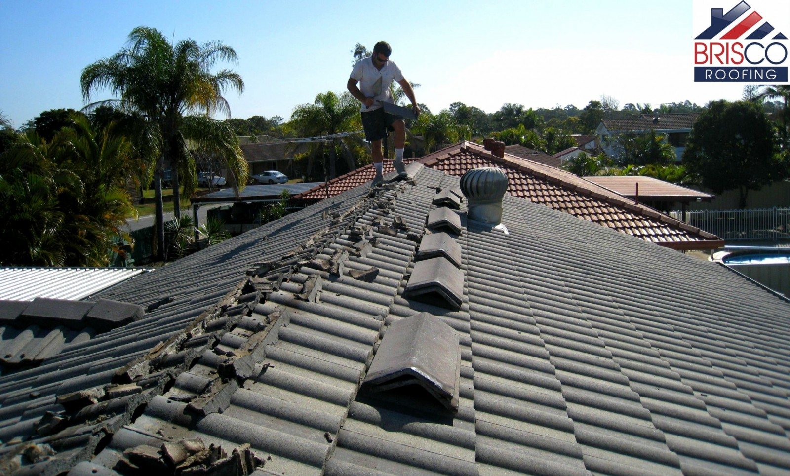 Roof Restoration Process | Brisco Roofing