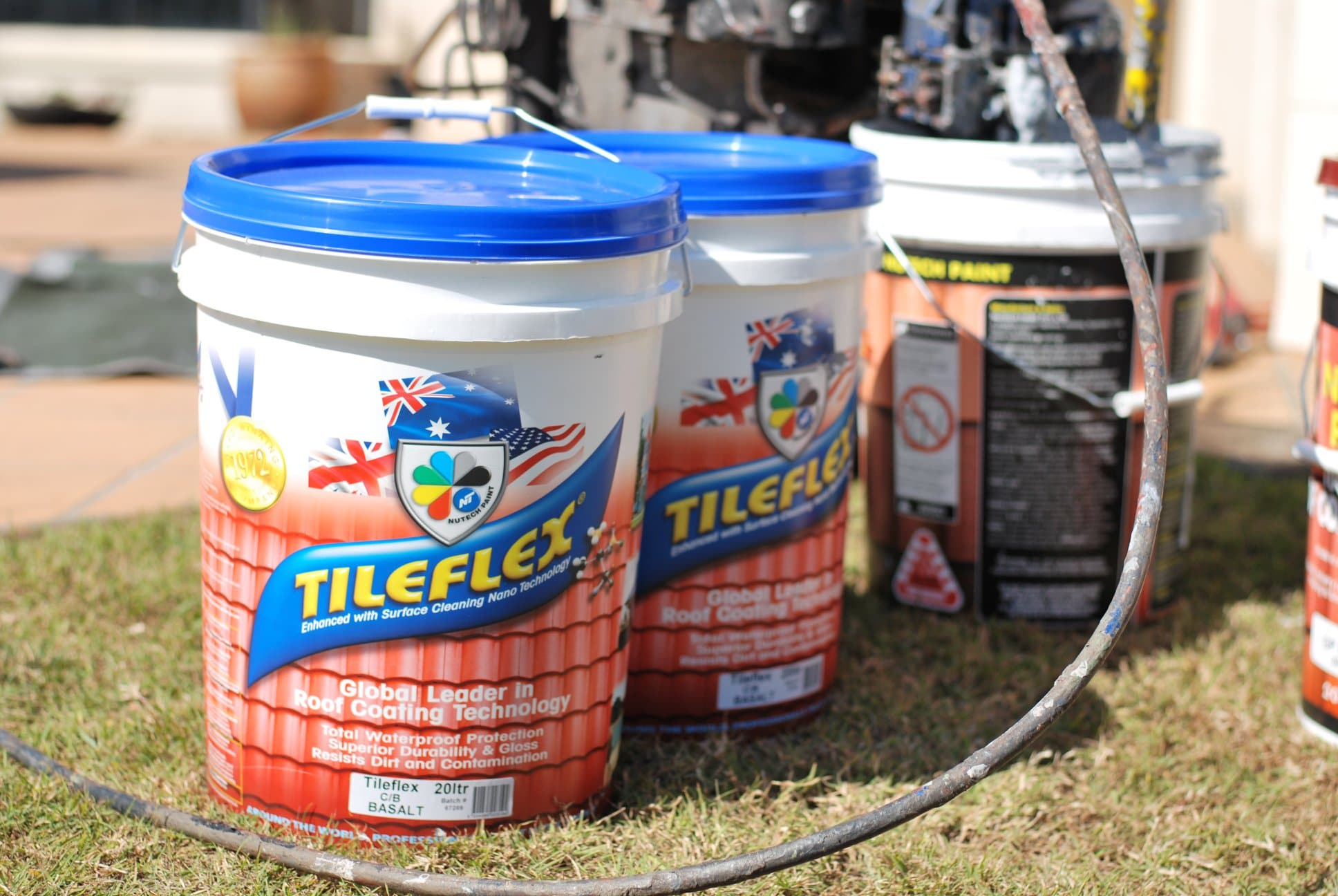 tile roof restoation products