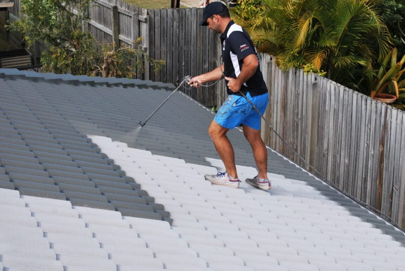How often should you paint your roof?