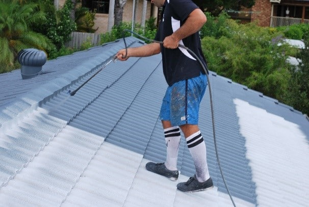 Roof Membrane Roof Painting